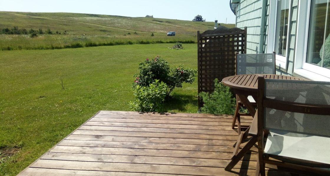 La Typique Aux Vents - Deuxième patio