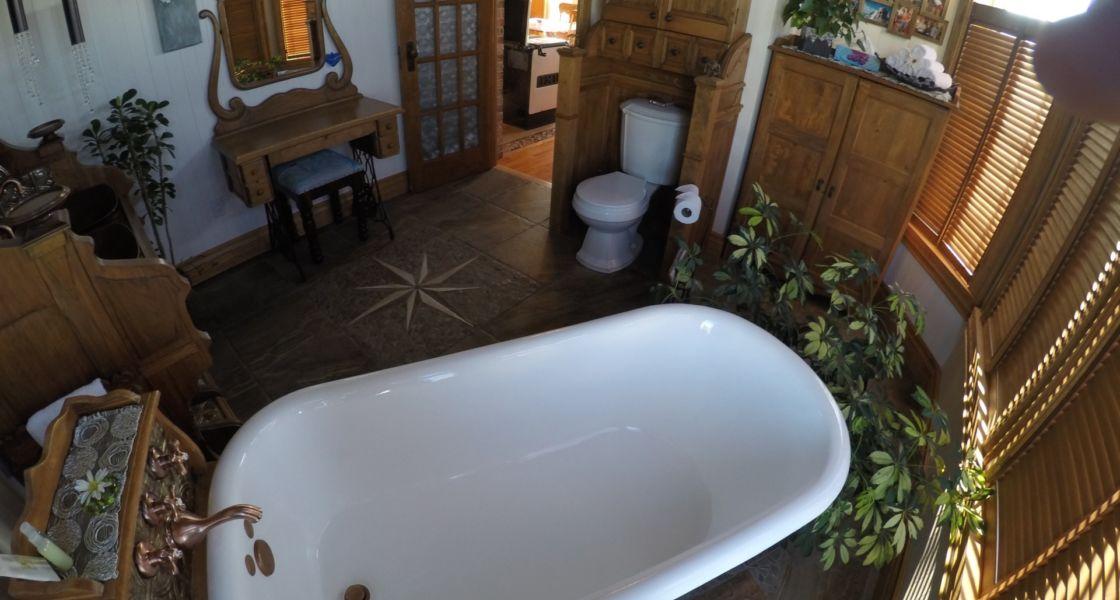 La Typique Aux Vents - Salle de bain rez-de-chaussée