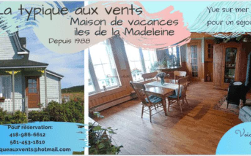 Chalet à louer Îles-de-la-Madeleine