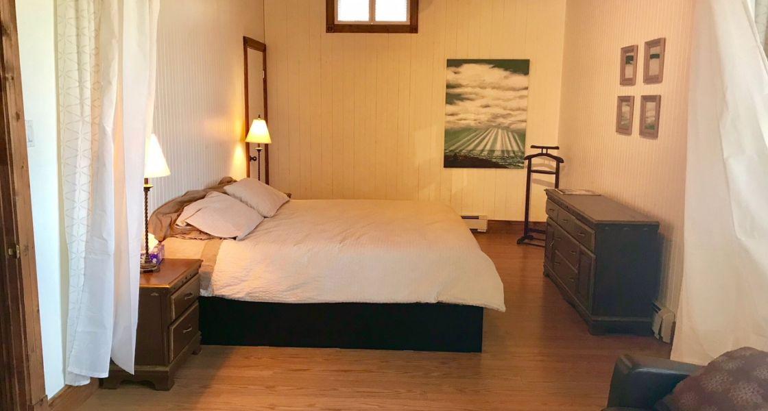 Maison Azur-Marine - Suite king, section lit king